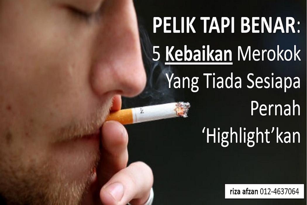 kebaikan-merokok